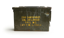 Ammo Container Front WWII Era ...