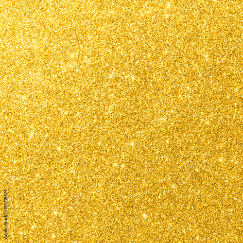 Gold Glitter Texture Sparkling Shiny Wrapping Paper