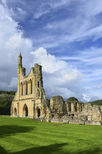 Byland Abbey In Ryedale, North...