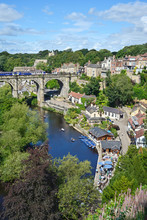Knaresborough With Viaduct, Tr...
