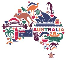 Australian Icons In The Form O...