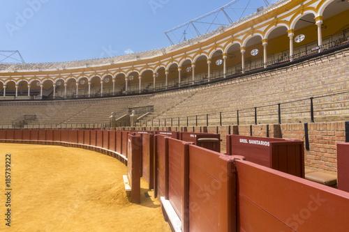 Foto op Plexiglas Stadion The Sevilla bullring