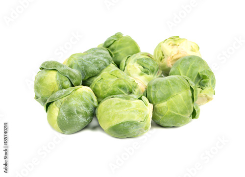 La pose en embrasure Bruxelles Heap of brussels sprouts
