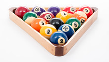 8 Ball Pool Game Rack Of Balls
