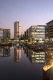 Fototapeta Nowy York - Clarence Dock, also known as Leeds dock, leeds, yorkshire