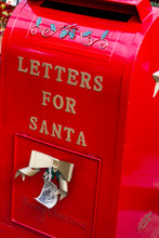 Letters For Santa Red Mailbox