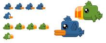 Bird Game Character