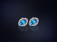 Earrings Diamonds.Jewlery