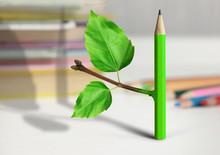 Creative Idea Concept, Pencil ...