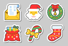 Christmas, New Year Icon Stick...
