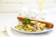 Potato Salad With Wiener Sausa...