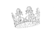 Crown Isolated In White Backgr...