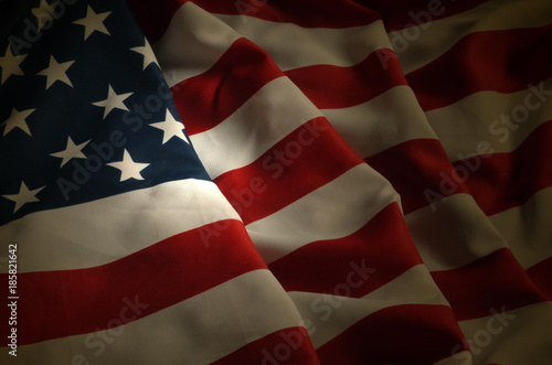 Photographie  American Flag background