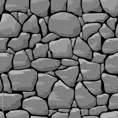 Kamiennej ściany bezszwowy deseniowy tło
