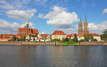 Paseo Del Río Oder, Wroclaw, ...