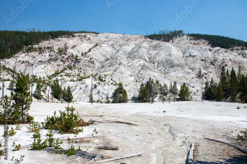 Fotografie, Obraz  Yellowstone National Park UNESCO World Heritage geysers this must-see during you
