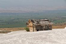 Hierapolis Antique Tomb On The...