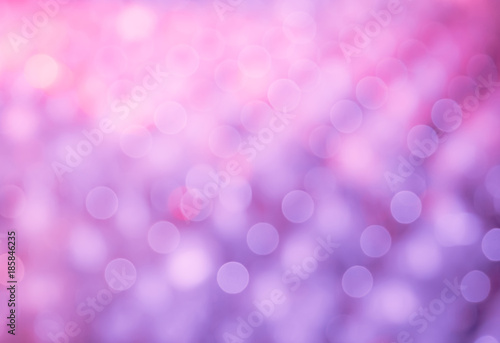 Carta da parati Bokeh Purple Lilac gradient Background