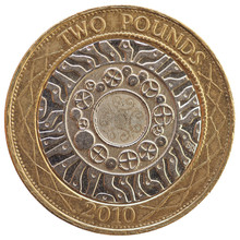 2 Pounds Coin, United Kingdom ...