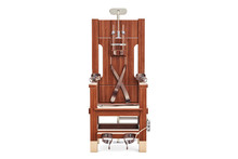 Electric Chair, 3D Rendering