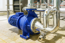 Water Centrifugal Pump And Mot...