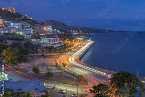 Cuadros en Lienzo Evening Ela Beach Road Port Moresby
