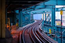 Subway Train Station Platform