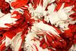 Leinwanddruck Bild - Closeup shot of big pile of work gloves