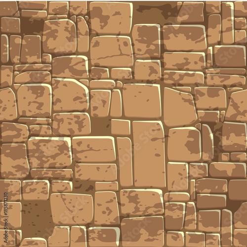 widok-z-gory-bez-szwu-tekstury-tla-brazowy-kamienny-mur-ilustracja-wektorowa-dla-elementu-gry-ui