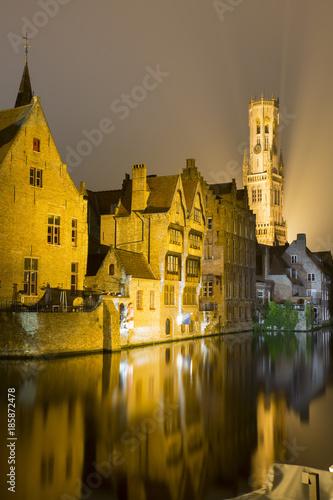 Poster Brugge Belfry - Belfort Brugge