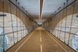 Under Adolf bridge in Luxembourg