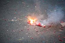 Firecracker Exploding In The S...