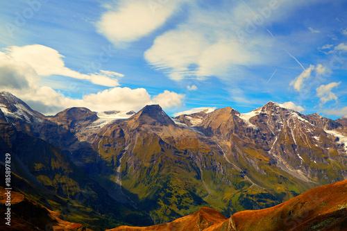 Canvas Prints Mountains Beautiful mountain landscape of Austrian Alps - Grossglockner mountain view