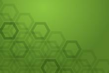 Green Bee Nest Background