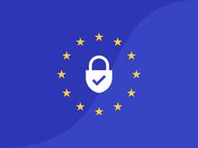 EU General Data Protection Regulation. Eu Gdpr Vector Illustration
