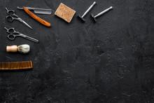 Vintage Barbershop Tools. Razo...