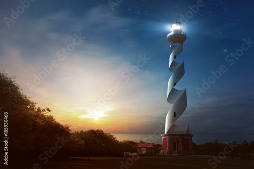 Curved Lighthouse