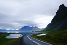 Iceland, South Coast, Mountain...