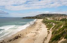 View Of The Coastline At Dana ...
