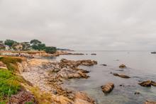 Beautiful Coastline Near Monte...