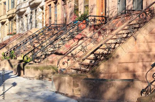 Fotografie, Obraz  New York City Brownstones