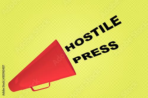 Fotografie, Obraz  Hostile Press concept