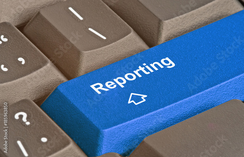 Tela Keyboard with key for reporting