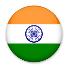 Flag Of India In The Form Of A...