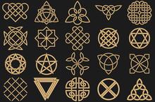 Set Of Ancient Symbols