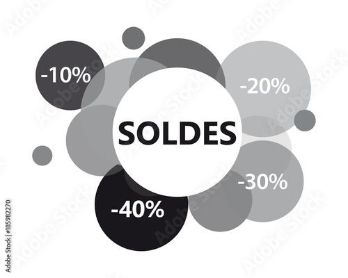 Valokuva  Soldes-noir