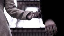 End Of Relationship Between Man And Woman, Hands Of Breakup Couple, Divorce