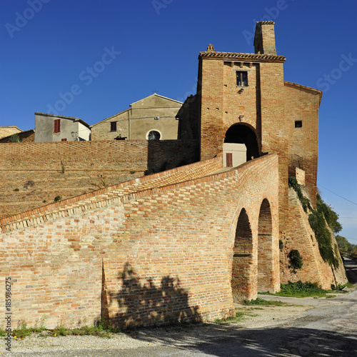 Plakat Castle of Loretello, Arcevia (AN)