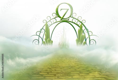 Fotografie, Obraz  emerald city gate