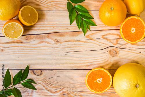Fotografie, Obraz  柑橘類 フレーム